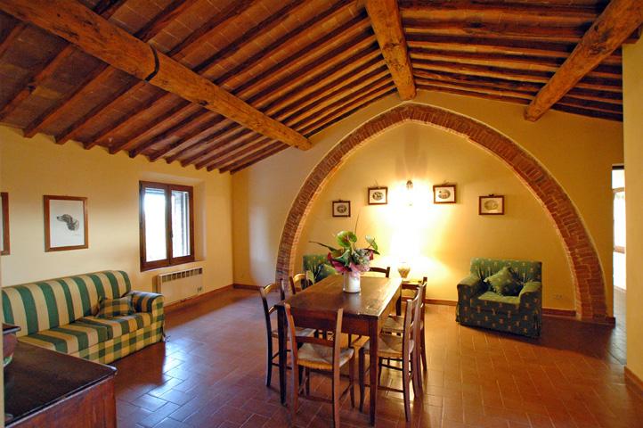 Appartamenti in residence per vacanze in toscana for Letto stile fattoria