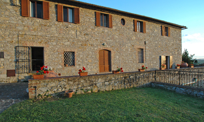 Tuscan countryside apartments :: Villa Catignano