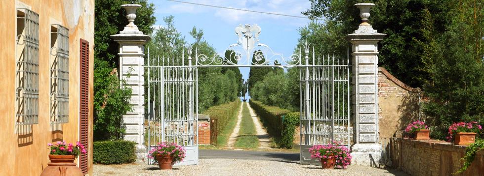 Ville per matrimoni in toscana villa con giardino all - Giardino all italiana ...
